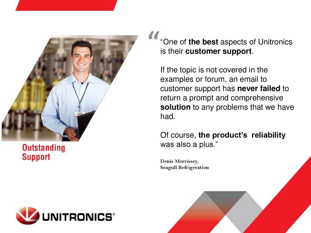 What is Unique About Unitronics? - ppt download