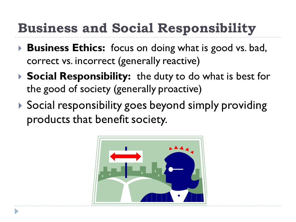 Business and Social Responsibility