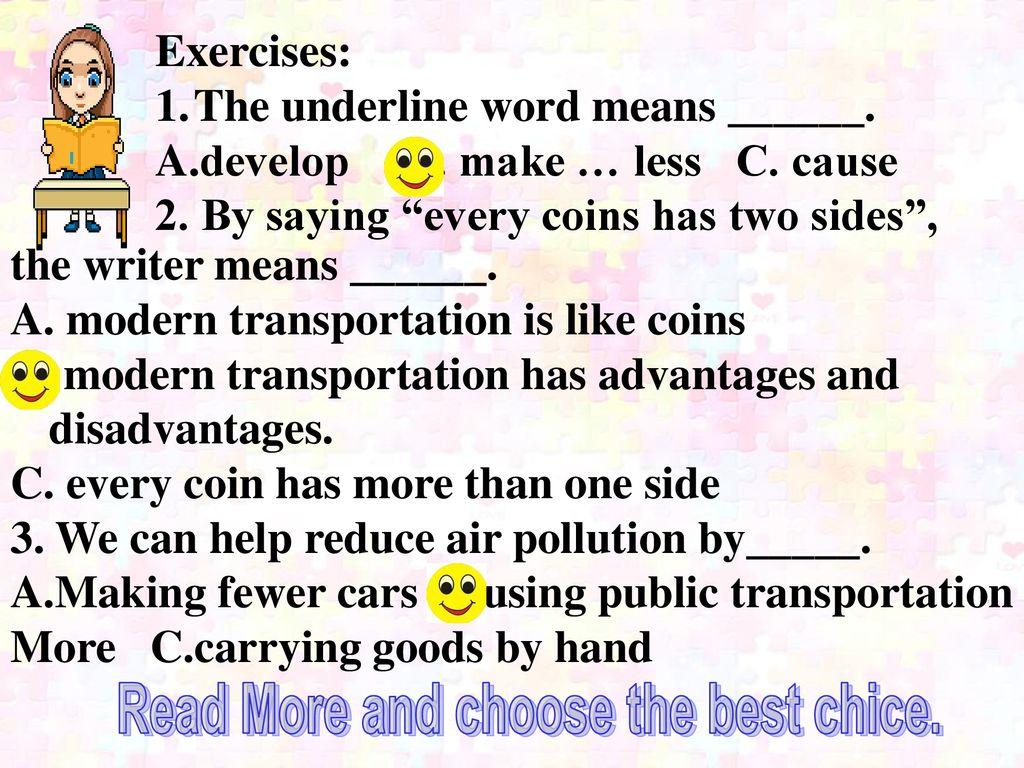 冀教版八年级上册Lesson 36 Clean Cars  - ppt download