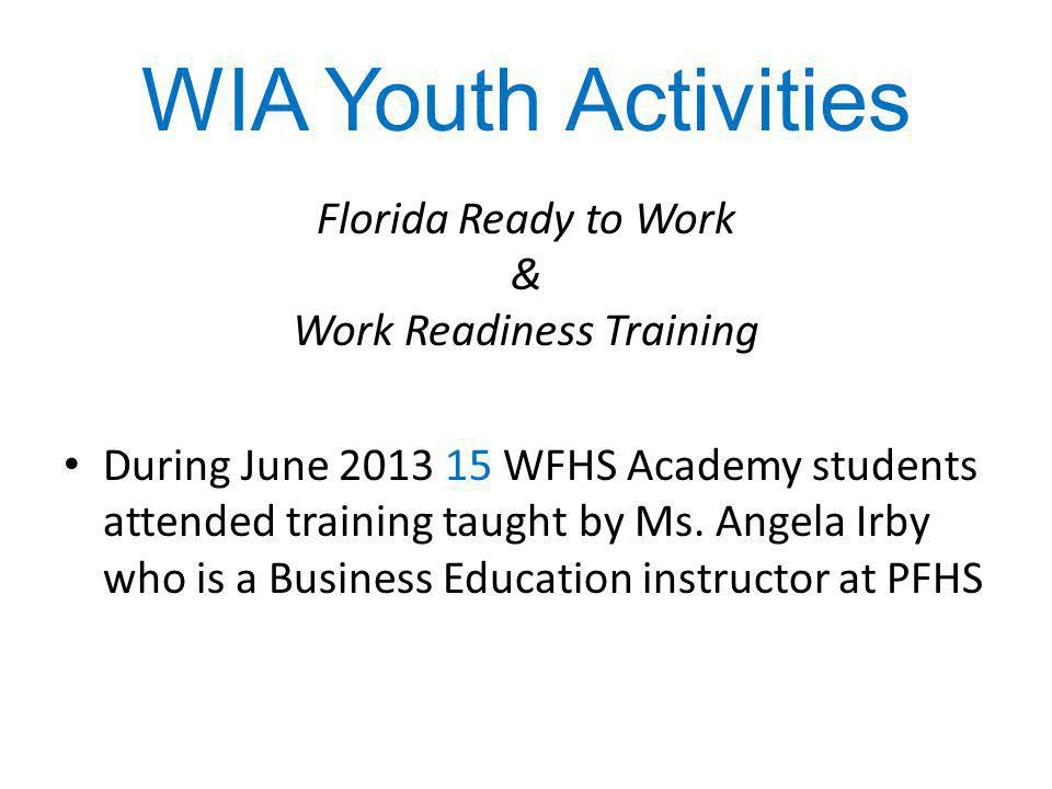 Work Readiness Training