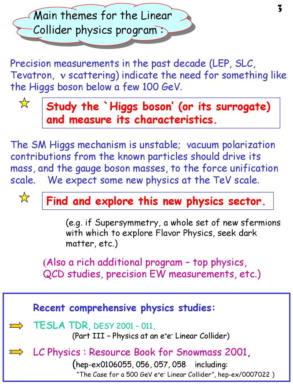 Linear Collider Physics Resource Book for Snowmass 2001, 2: Higgs and Supersymmetry Studies