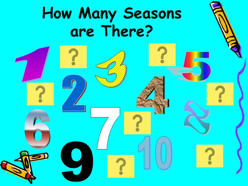 How Many Seasons are There