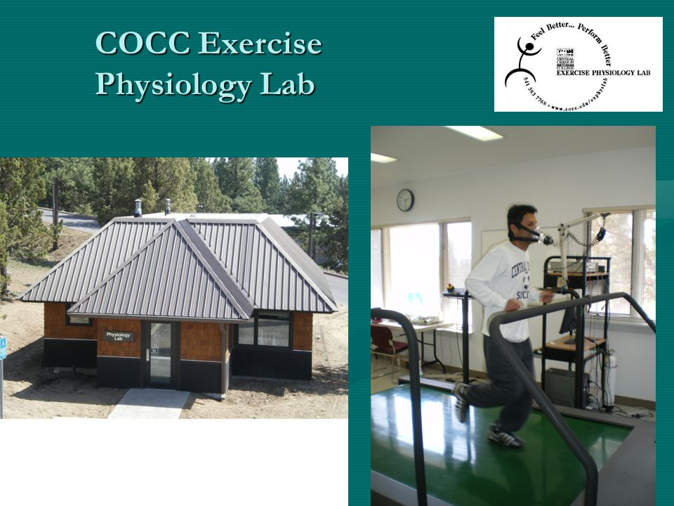 COCC Exercise Physiology Lab