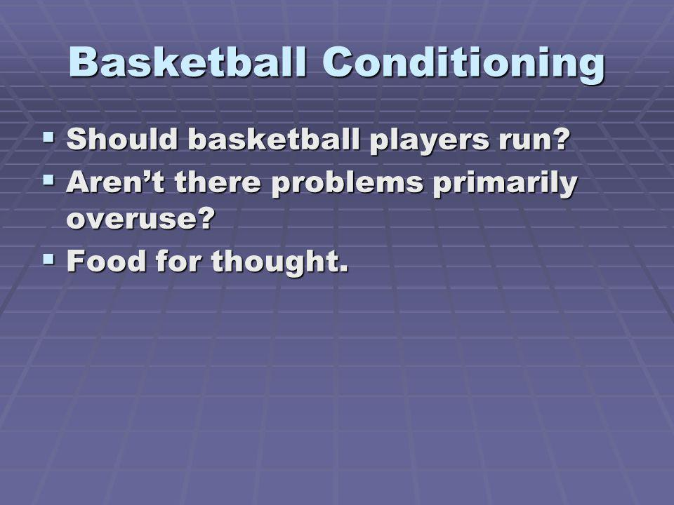 Basketball Conditioning