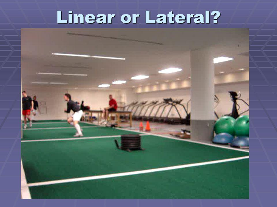 Linear or Lateral