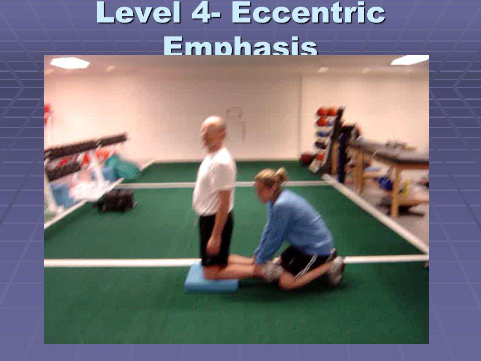 Level 4- Eccentric Emphasis
