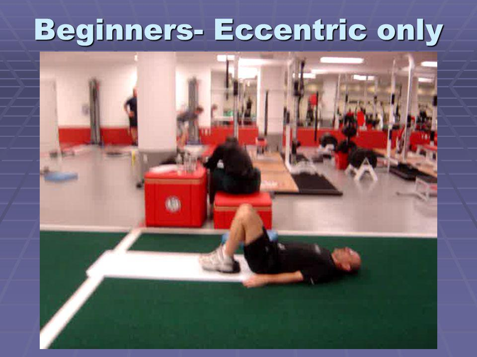 Beginners- Eccentric only