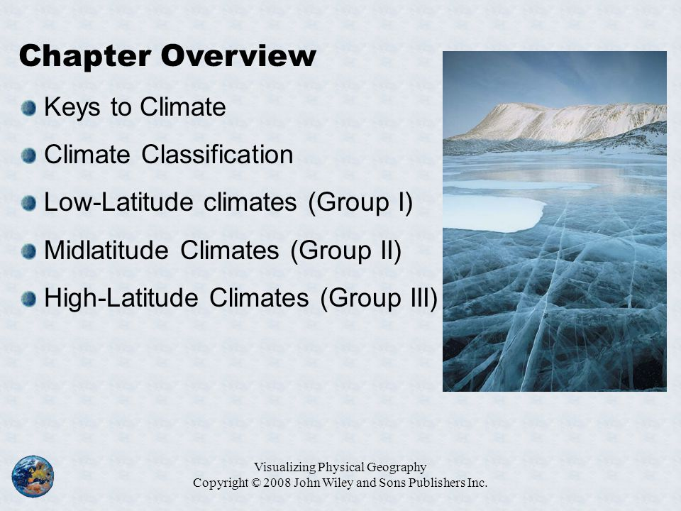 Chapter Overview Keys to Climate Climate Classification