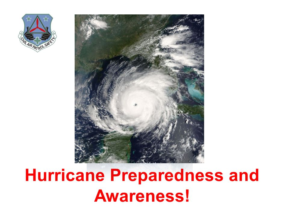 Hurricane Preparedness and Awareness!