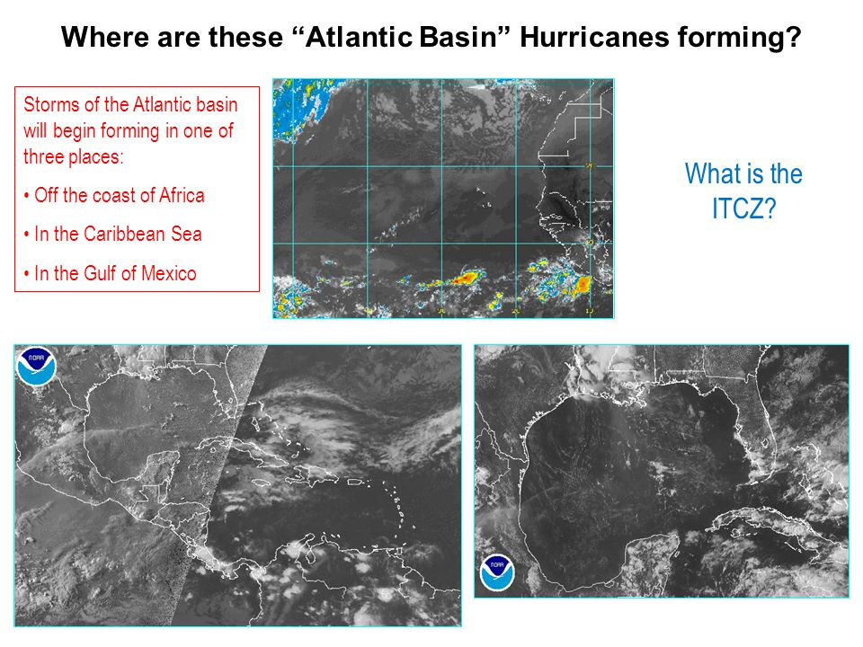 Where are these Atlantic Basin Hurricanes forming