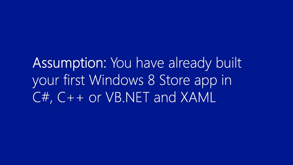 What's New in Visual Studio & Blend for XAML Developers - ppt download
