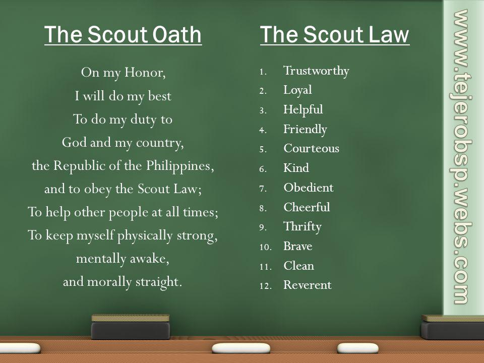 The Scout Oath The Scout Law