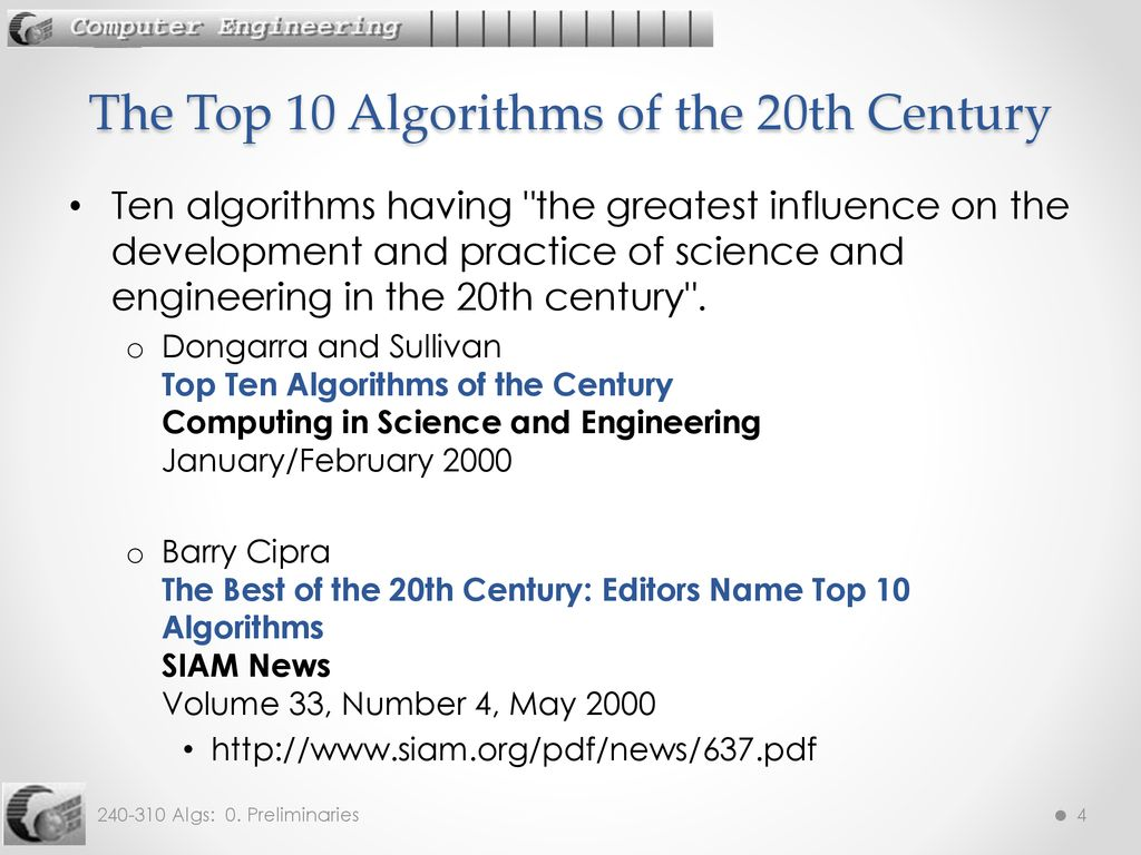 top ten algorithms cornell