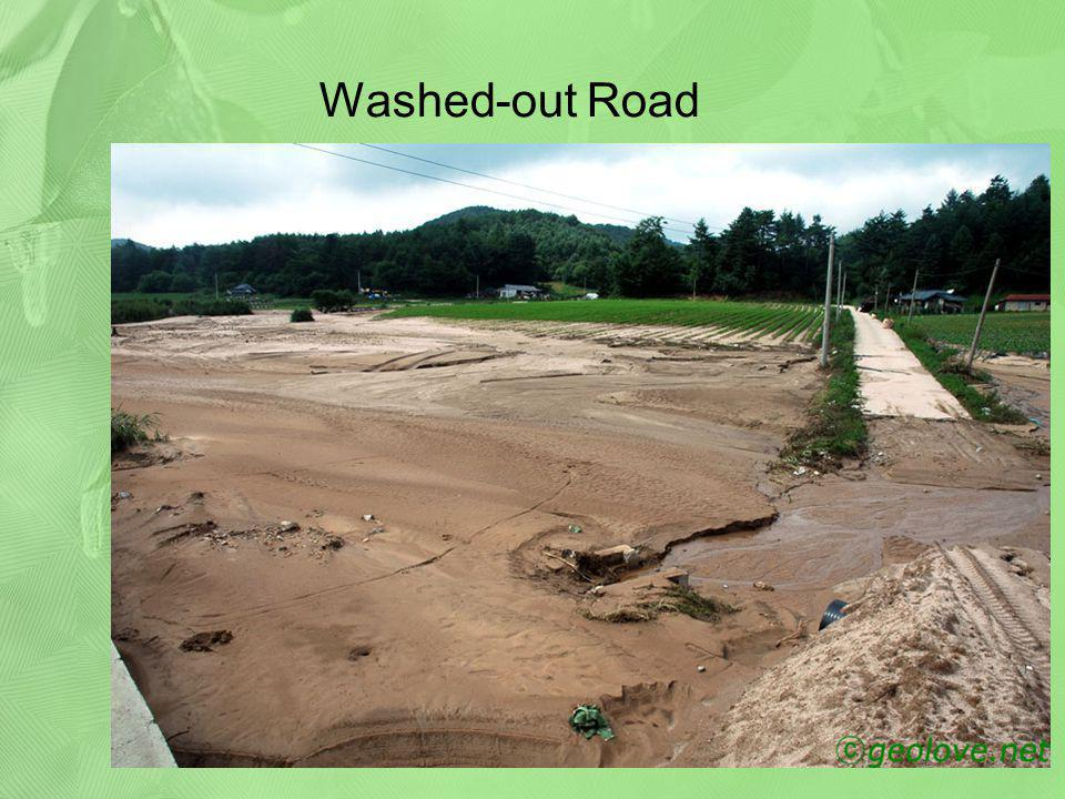 Washed-out Road