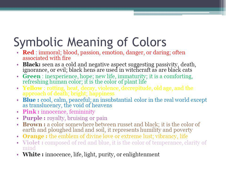 Symbolism In Literature Ppt Video Online Download