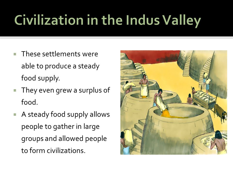 Civilization in the Indus Valley