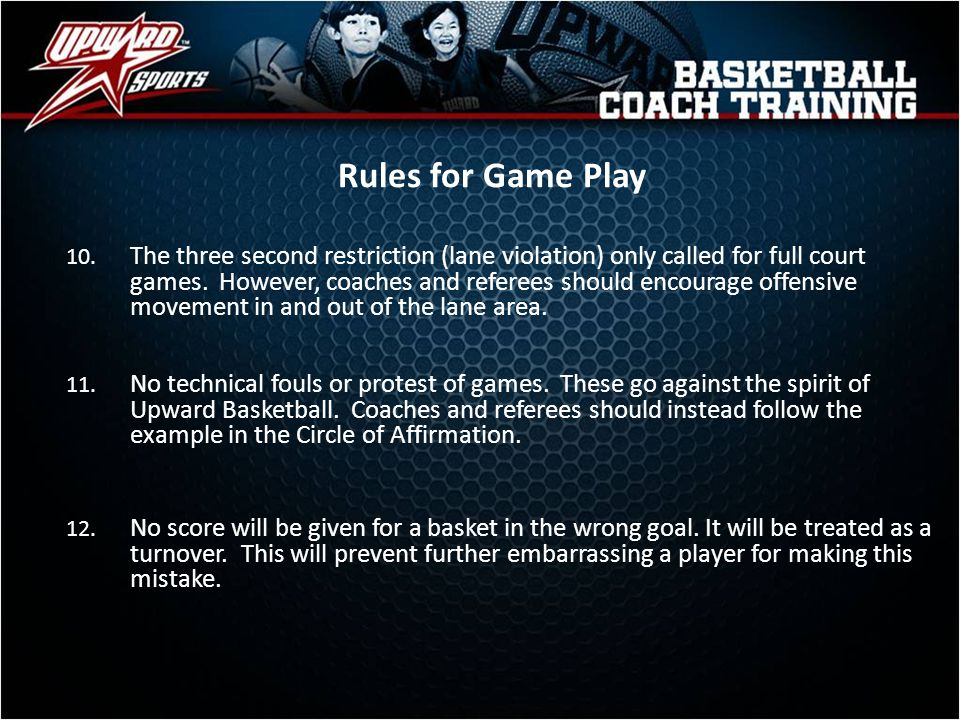 Rules for Game Play