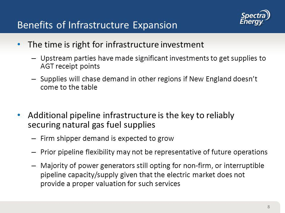 Benefits of Infrastructure Expansion