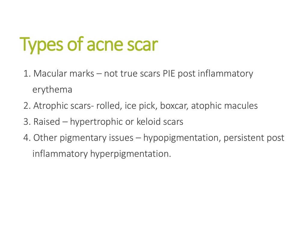 Acne Scarring Dr Paul Charlson President British College Of Aesthetic Medicine Gpwer In Dermatology And Medical Director Skinqure And Intoskin Clinics Ppt Download