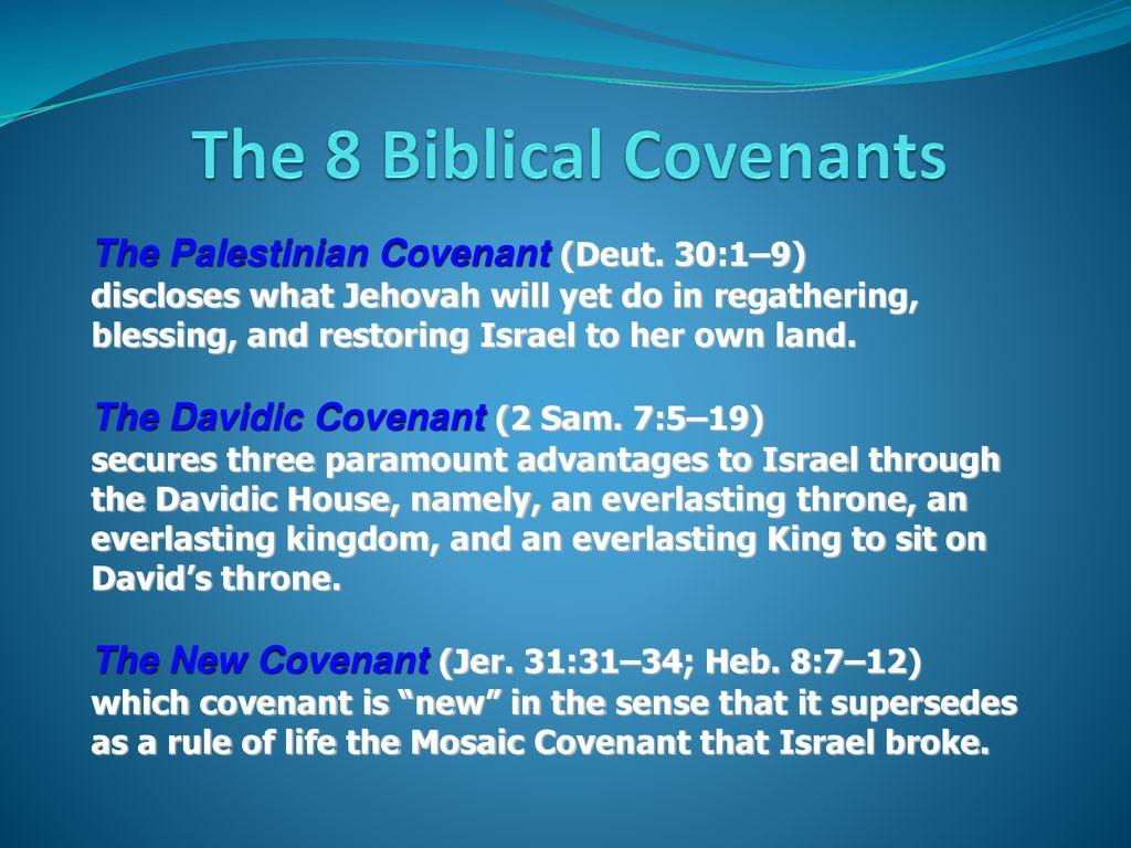 Biblical Covenants  - ppt download