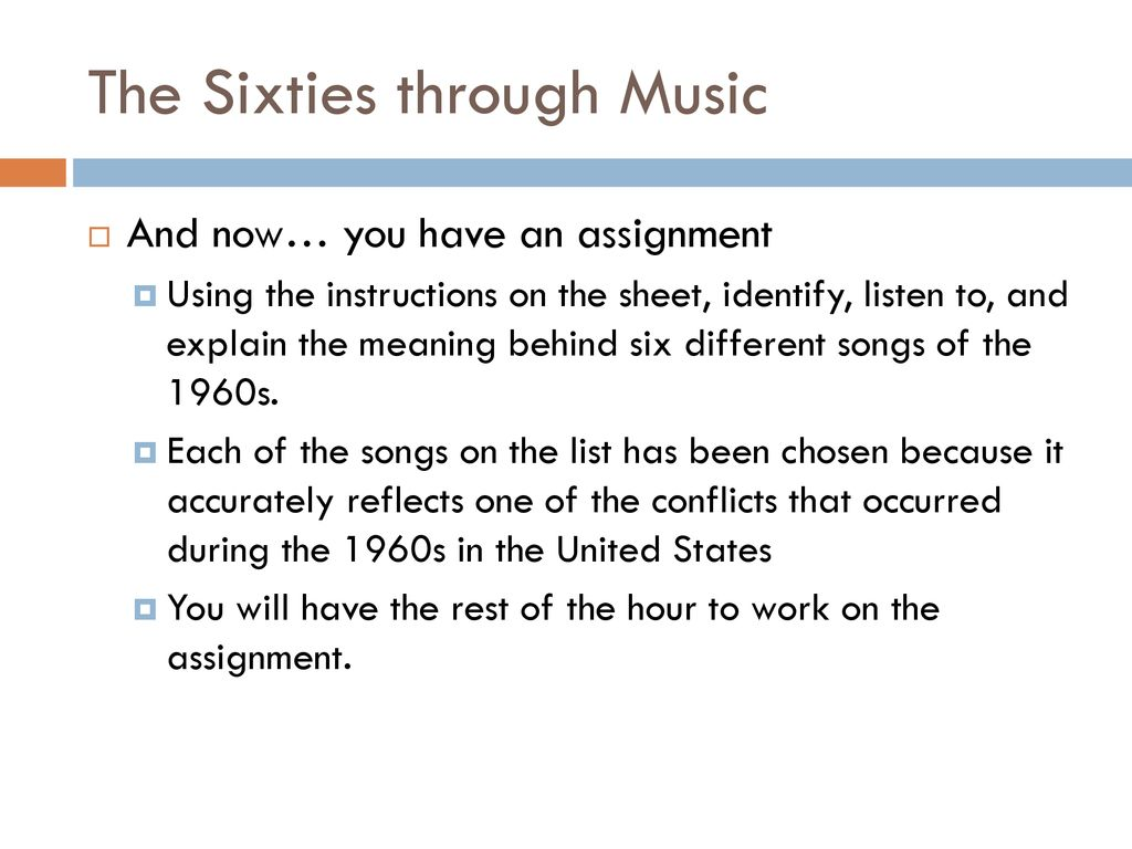 The Stormy Sixties APUSH Chapter ppt download
