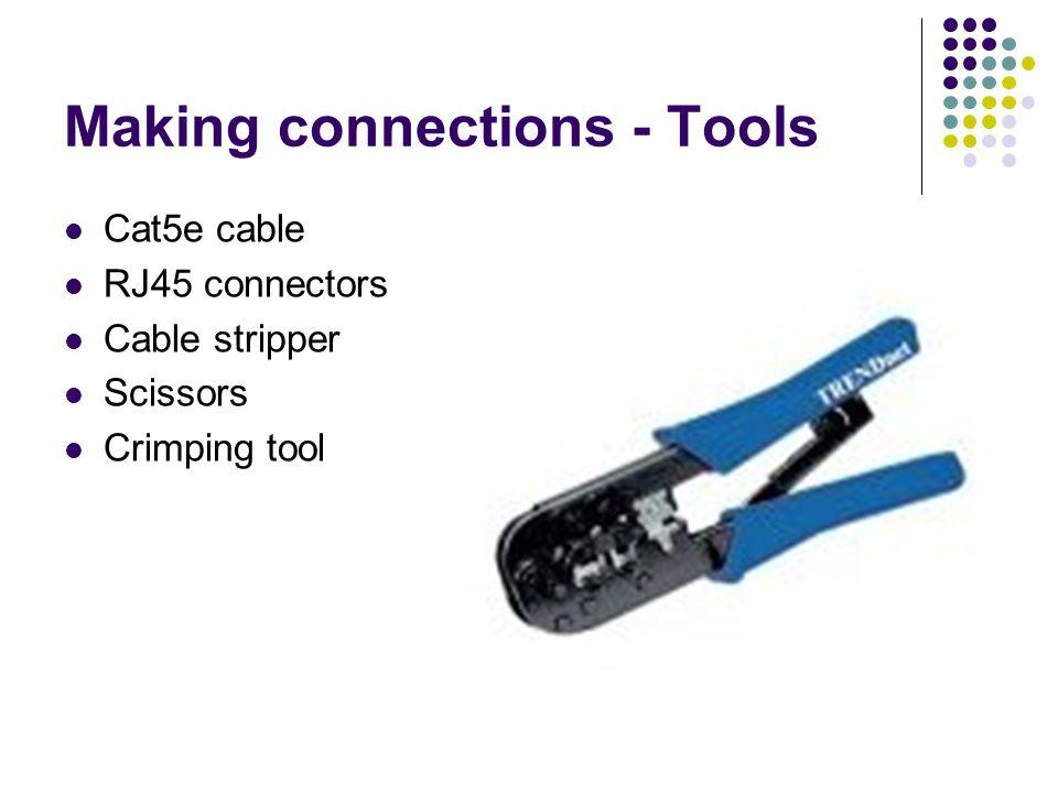 Making connections - Tools