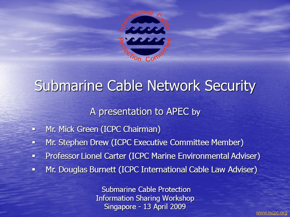 Submarine Cable Network Security