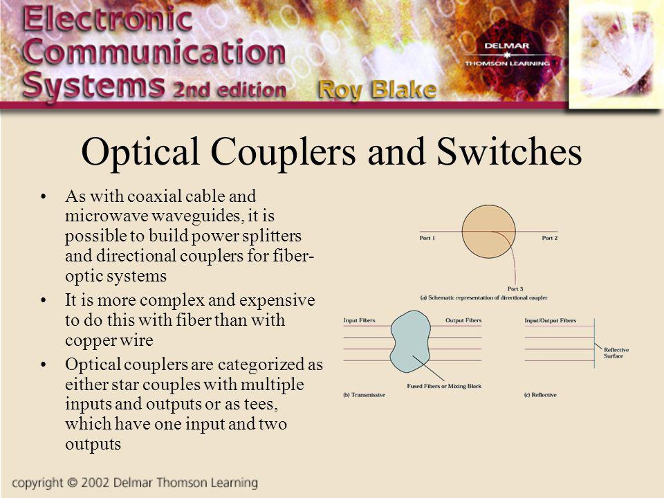 Optical Couplers and Switches