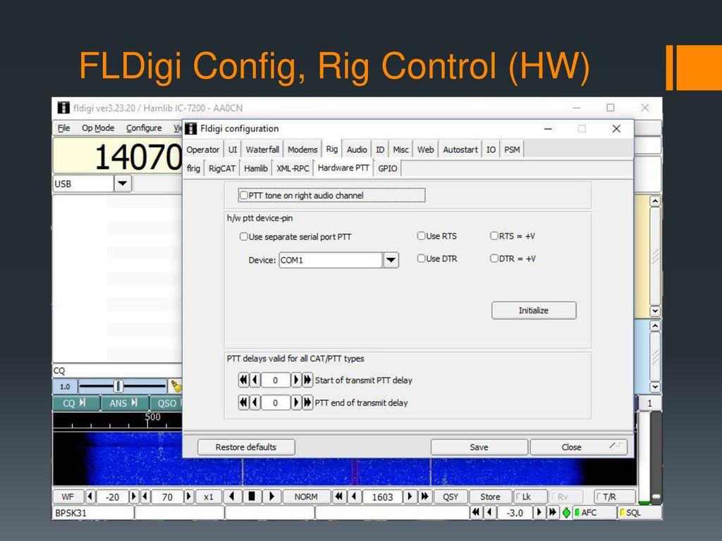 Overview of Digital Modes, FLDigi and N1MM Logger+ - ppt download