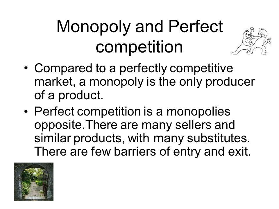 Monopoly and Perfect competition