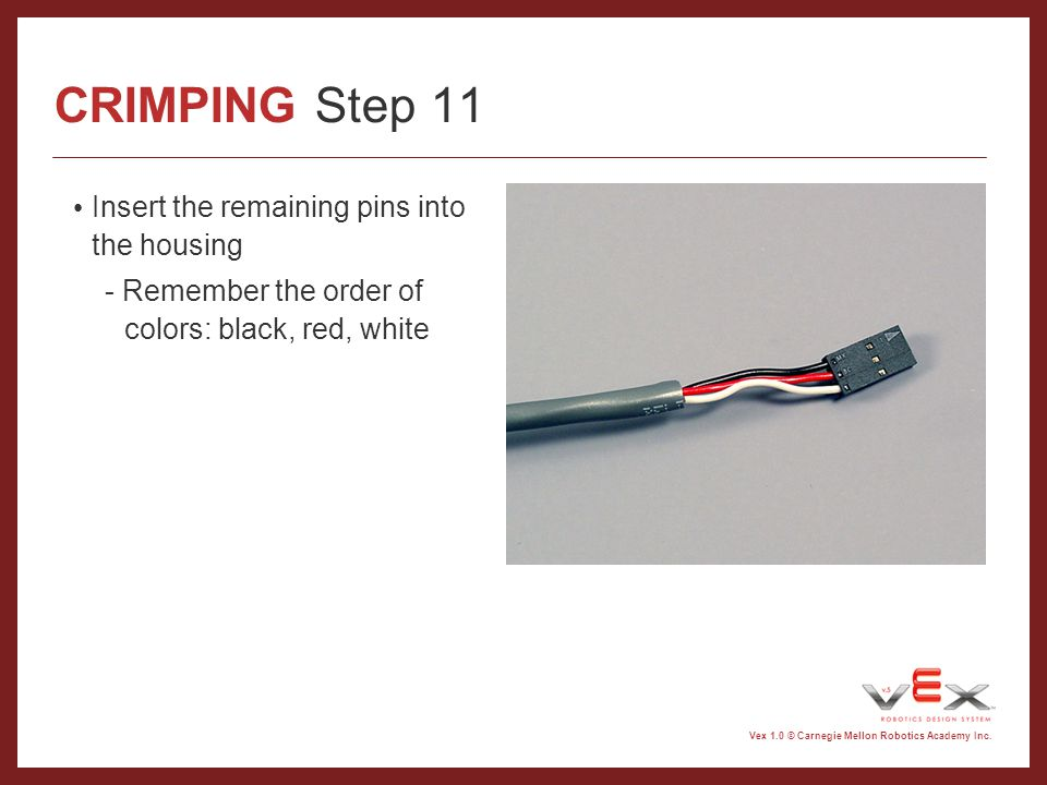CRIMPING Introduction - ppt video online download
