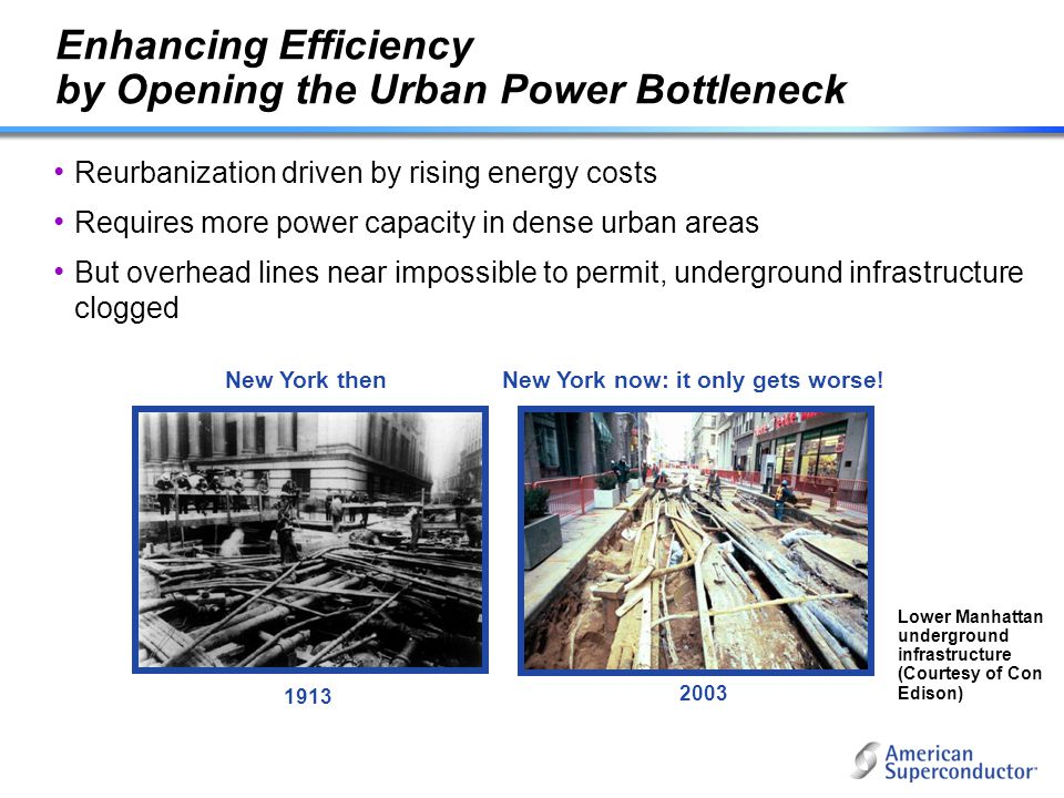 Enhancing Efficiency by Opening the Urban Power Bottleneck