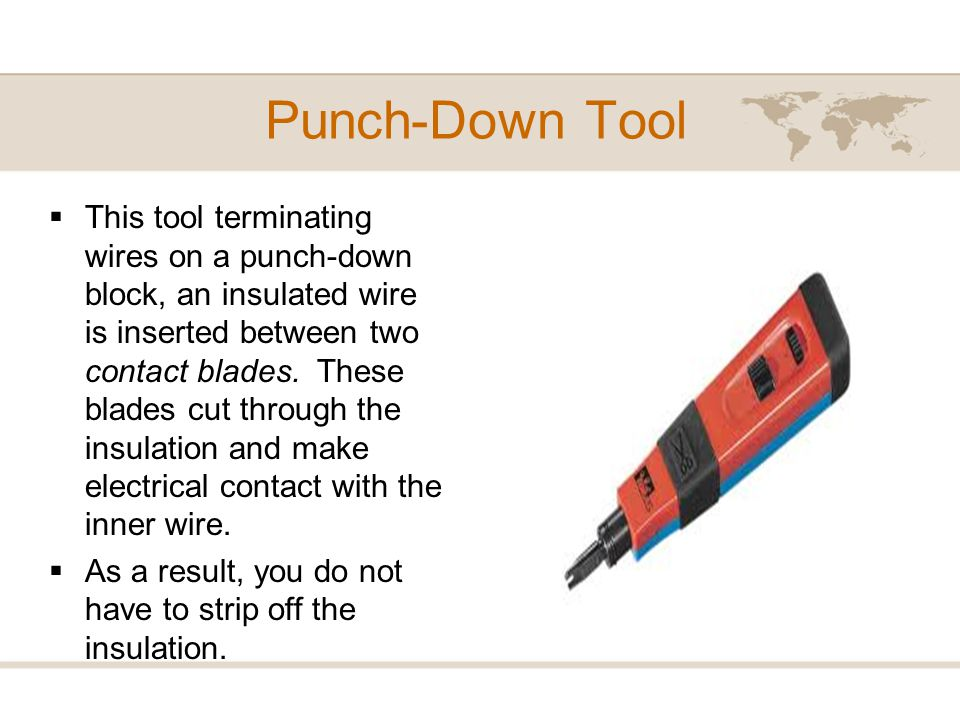 Punch-Down Tool