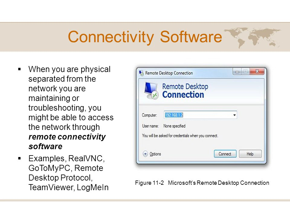 Connectivity Software