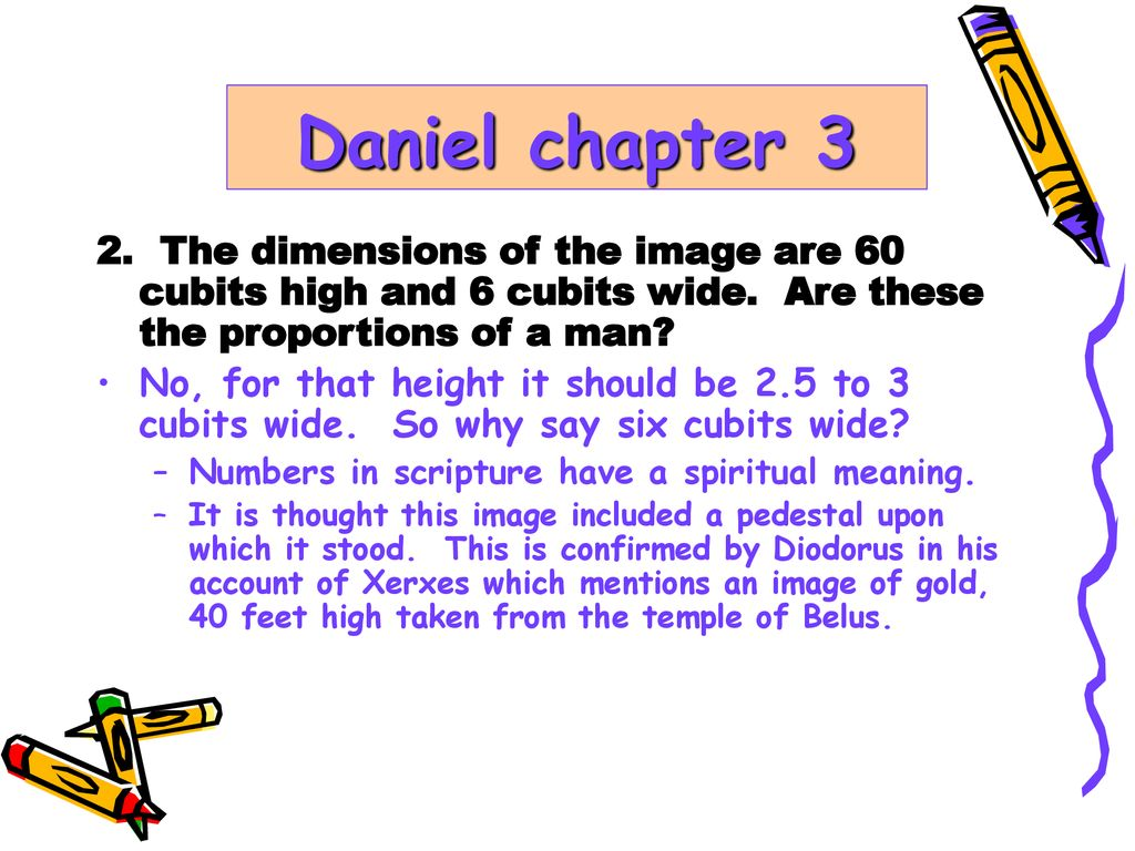 Daniel chapter 3 Questions and Answers  - ppt download