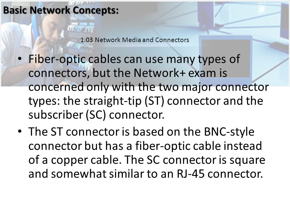 Basic Network Concepts: - ppt download