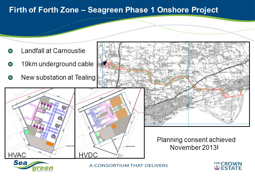 Firth of Forth Zone – Seagreen Phase 1 Onshore Project