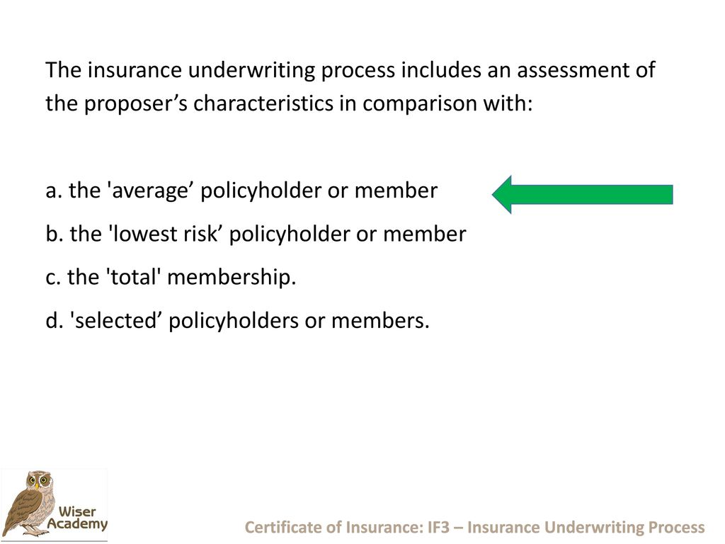 Underwriting Considerations Ppt Download