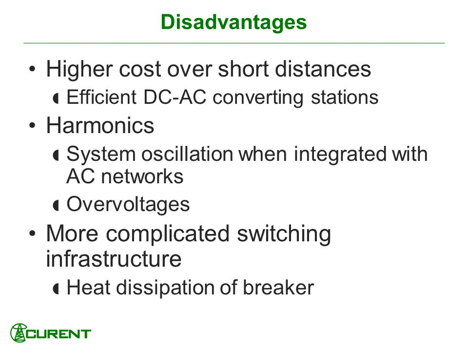 More complicated switching infrastructure