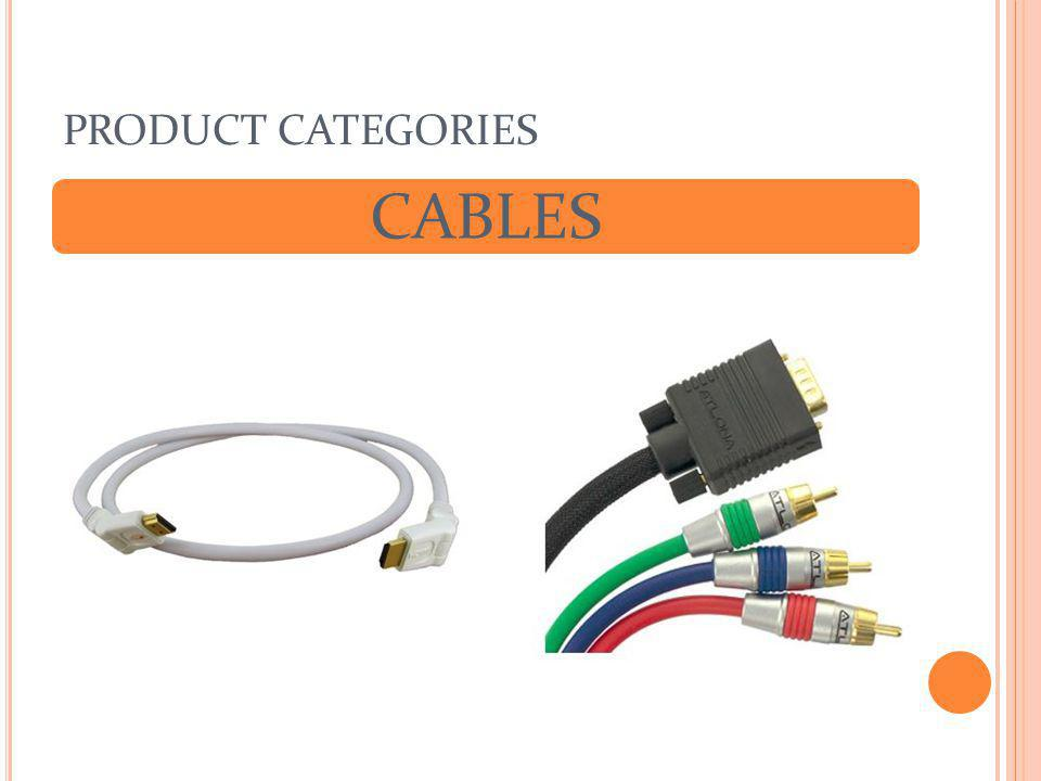 PRODUCT CATEGORIES CABLES
