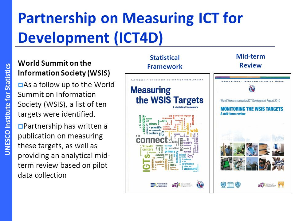 Partnership on Measuring ICT for Development (ICT4D)