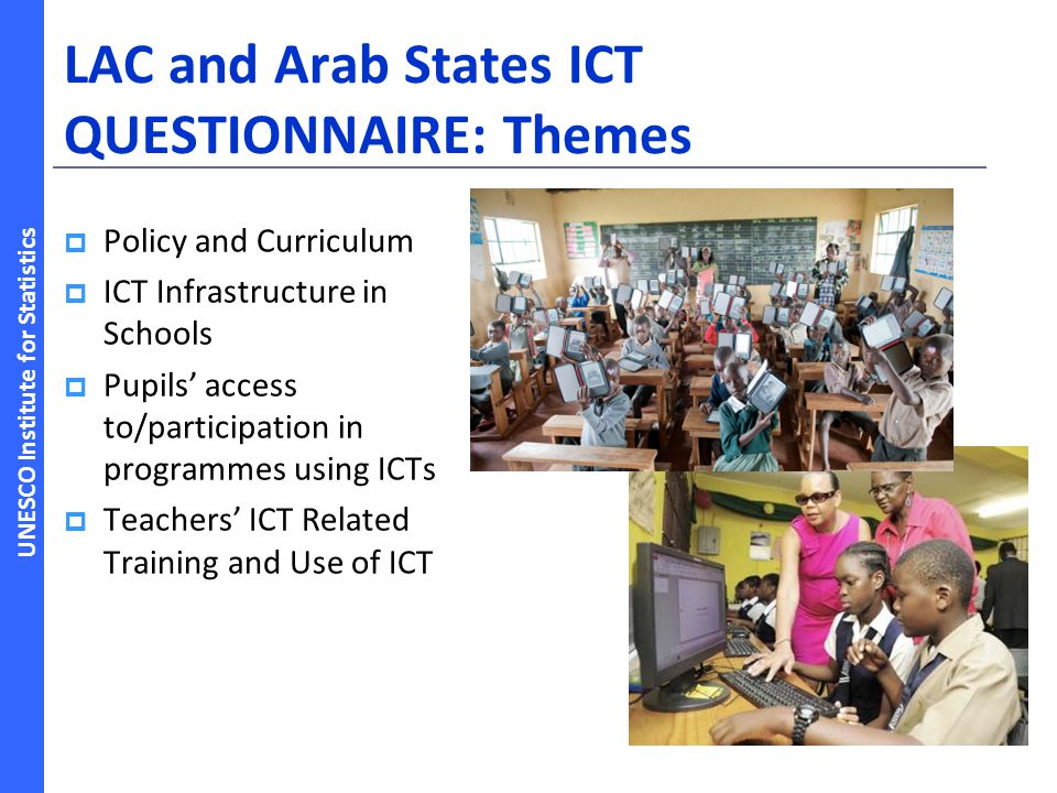 LAC and Arab States ICT QUESTIONNAIRE: Themes