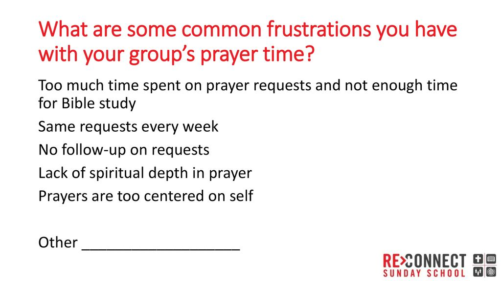 6 Ideas to Deepen Your Group Prayer Time Adult Leaders - ppt download