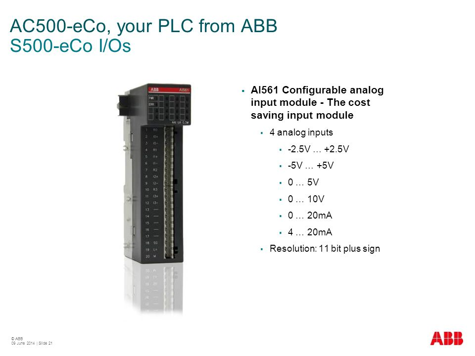 Abb automation products june ppt video online download ac500 eco your plc from abb s500 eco ios cheapraybanclubmaster Gallery