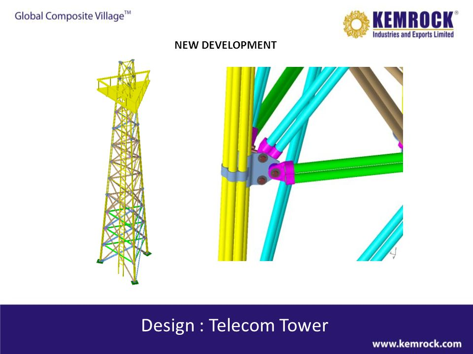 NEW DEVELOPMENT Design : Telecom Tower