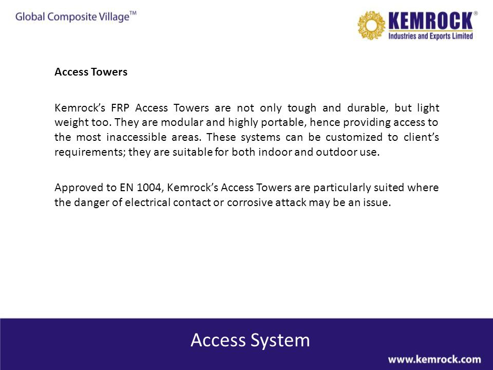 Access System Access Towers