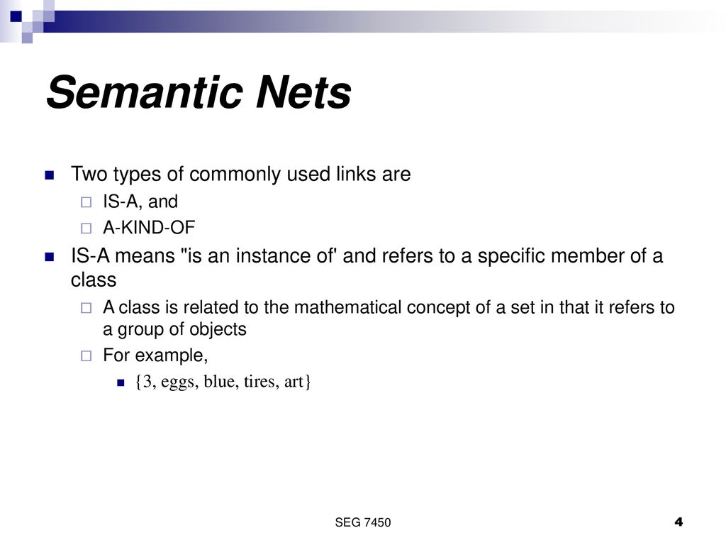 Semantic Nets And Frames Ppt Download