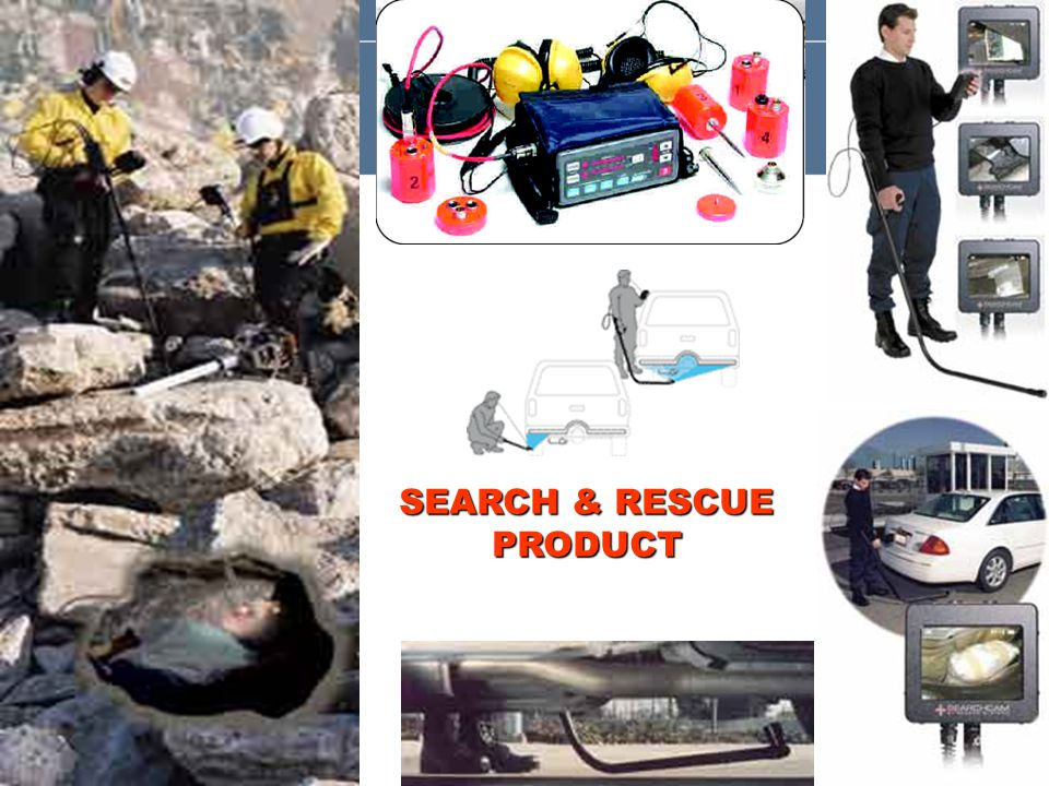 SEARCH & RESCUE PRODUCT