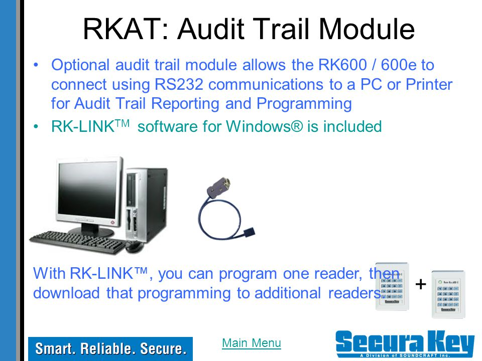 RKAT: Audit Trail Module