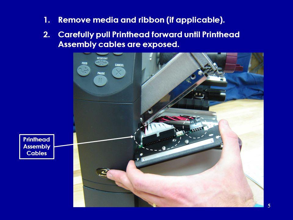 Zebra® Z4000, Z4M™, Z4Mplus™ Removing and Installing